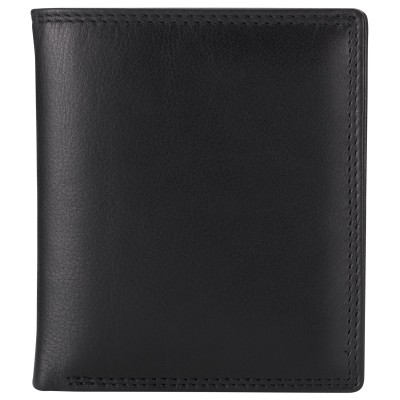 John Lewis Clear Case Wallet, Black