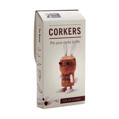 Luckies Bunny Animal Corkers
