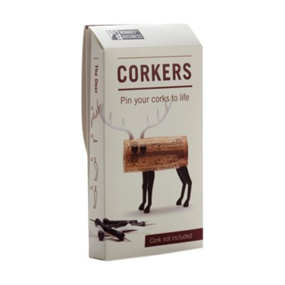 Luckies Deer Animal Corkers