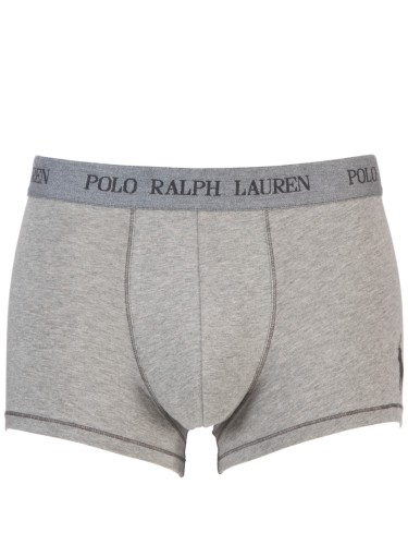 Polo Ralph Lauren Stretch Cotton Trunks, Grey